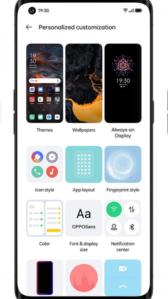 OPPO ColorOS 11, une expérience de personnalisation réinventée, en tête du déploiement d'Android 11