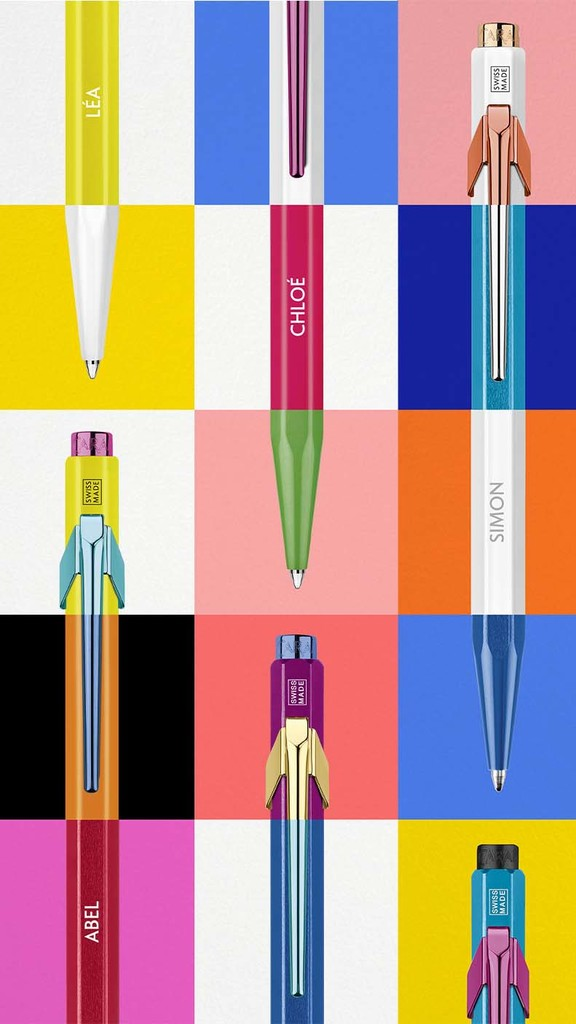 Caran d'Ache lance un concept de personnalisation complète de son iconique stylo bille 849.