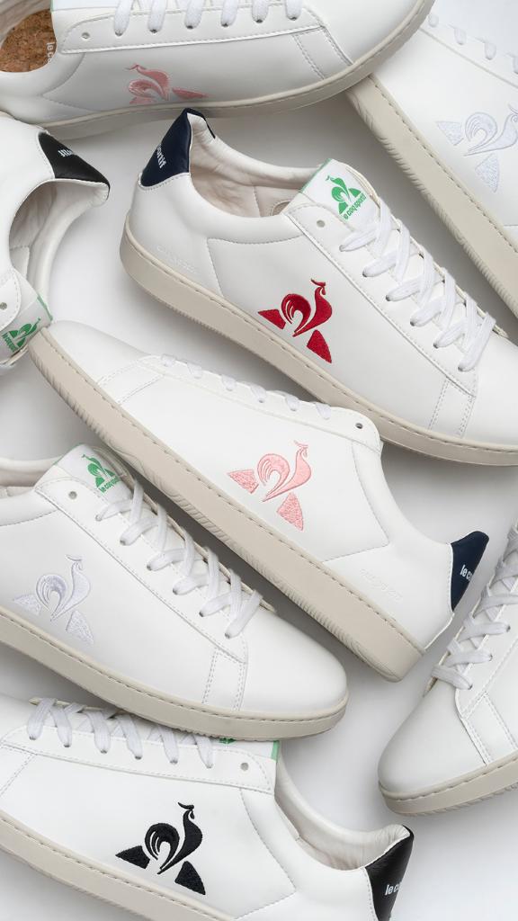 La nouvelle gamme de chaussures en cuir végétal du Coq Sportif
