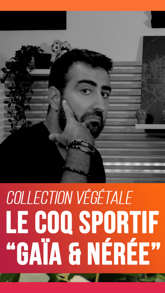 On a reçu des chaussures fabriquées avec du raisin - Le Coq Sportif Nérée - Collection Végétale