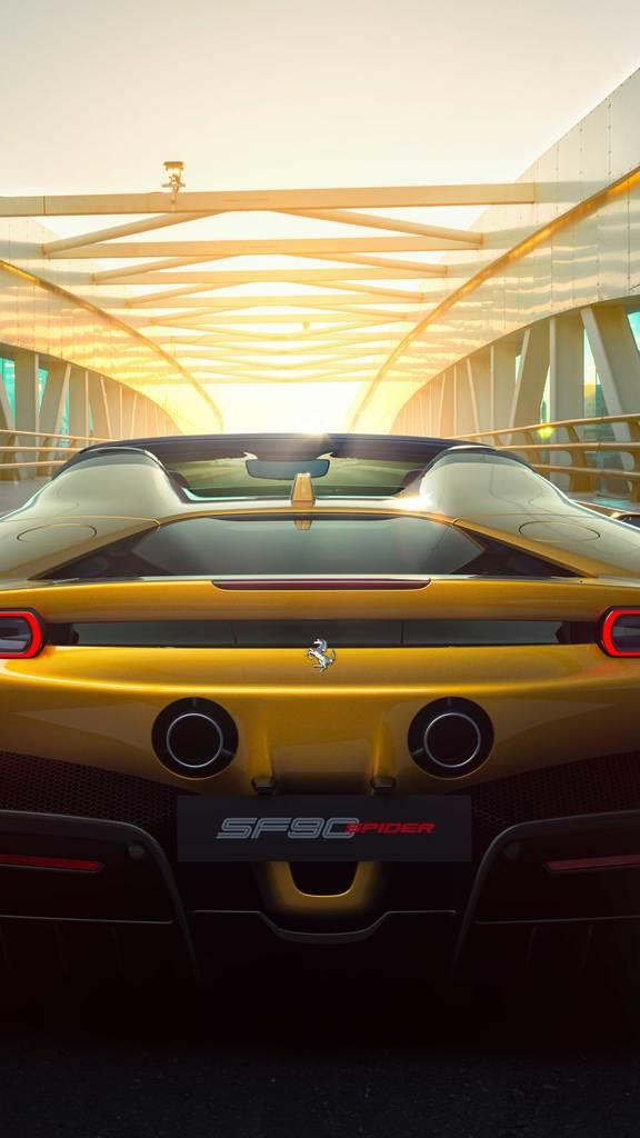Ferrari SF90 Spider : au-delà de l'imagination