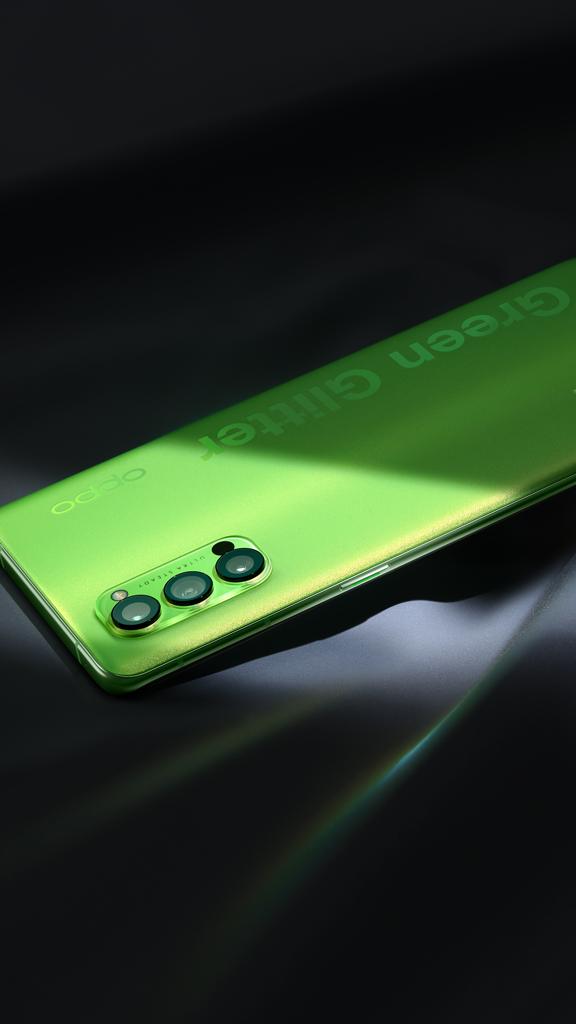 OPPO présente l'édition spéciale Reno4 Pro 5G 2020 Green Glitter