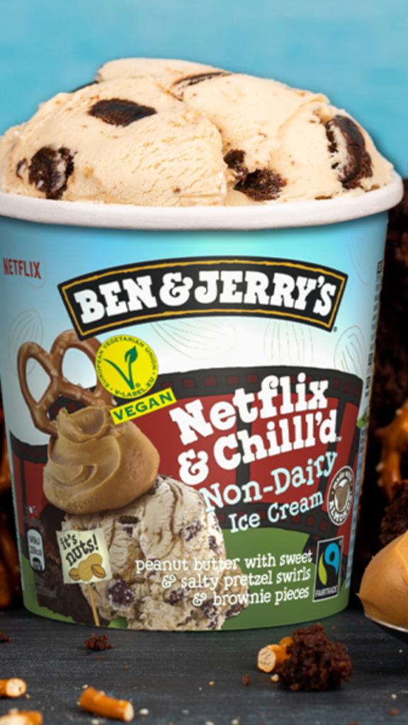 La glace Netflix & Chilll'd de Ben & Jerry's désormais en version végane Non-Dairy