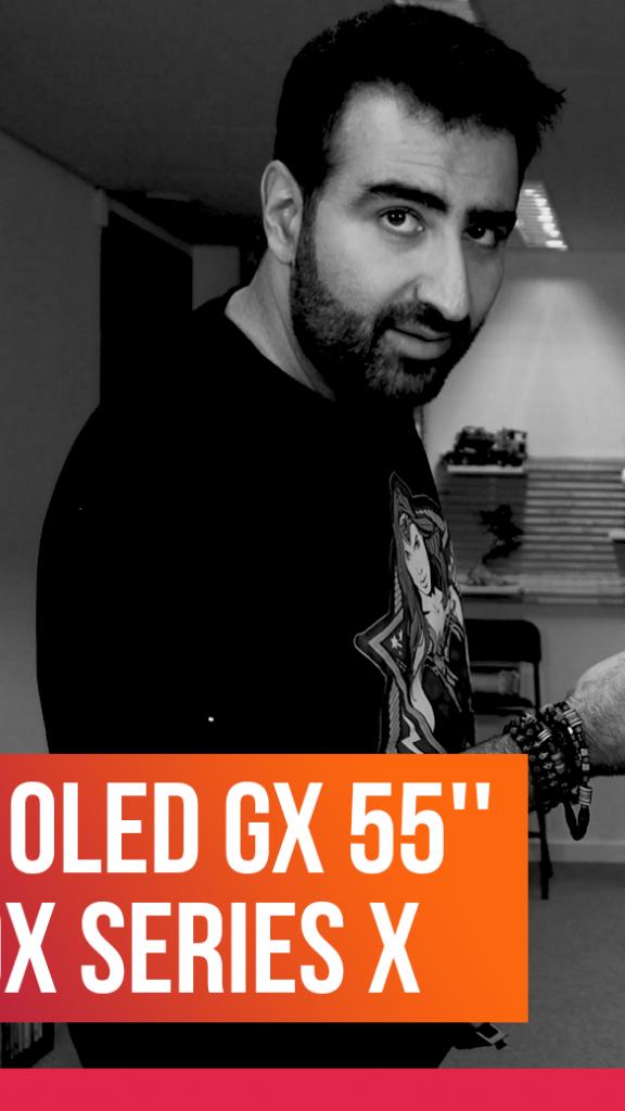 On a reçu une TV LG OLED GX 55'' + la Xbox Series X
