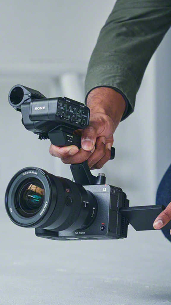 "Sony présente sa caméra compacte ""Cinema Line"""