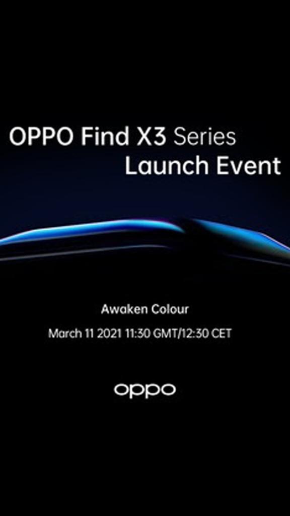 Lancement global de la série OPPO Find X3