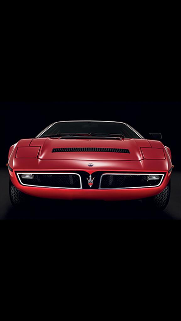 Maserati fête les 50 ans de la Bora