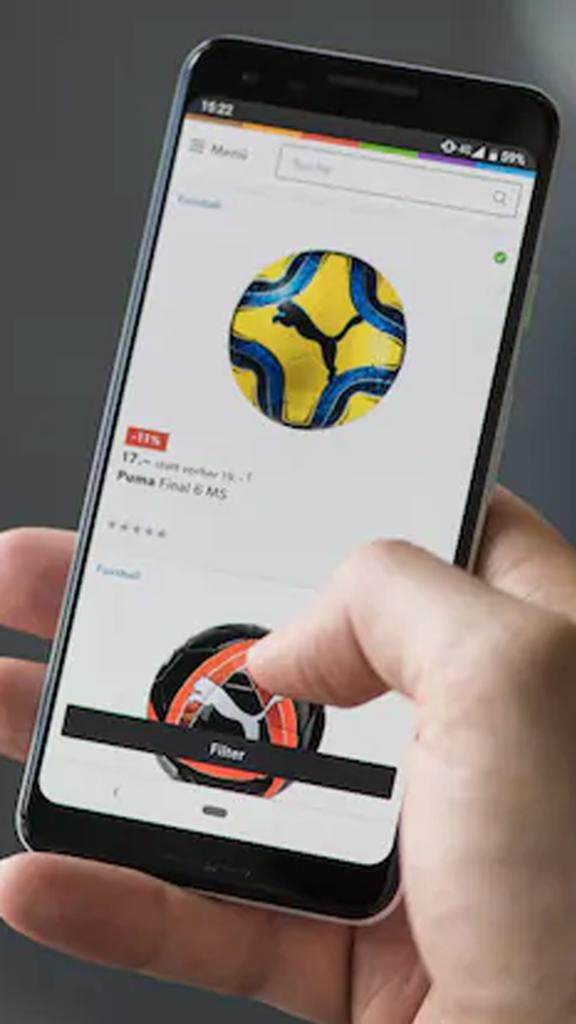 Info Galaxus : Malgré le télétravail, nous faisons toujours plus d'achats avec nos téléphones portables