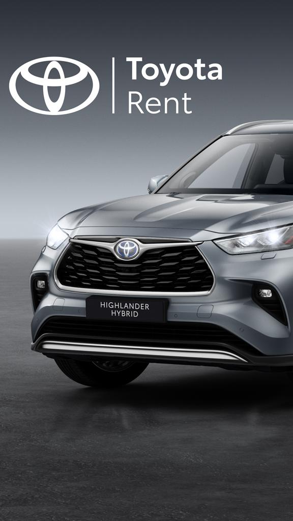 Le nouveau Toyota Highlander Hybrid disponible avec Toyota Rent
