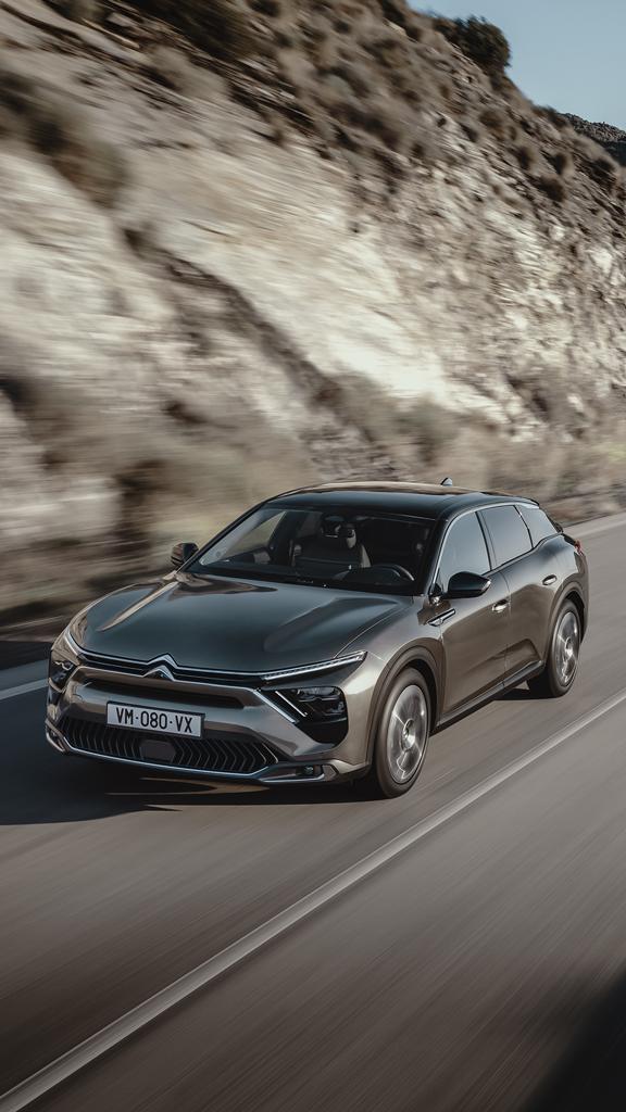 C5 X : L'expression la plus avancée de la philosophie Citroën