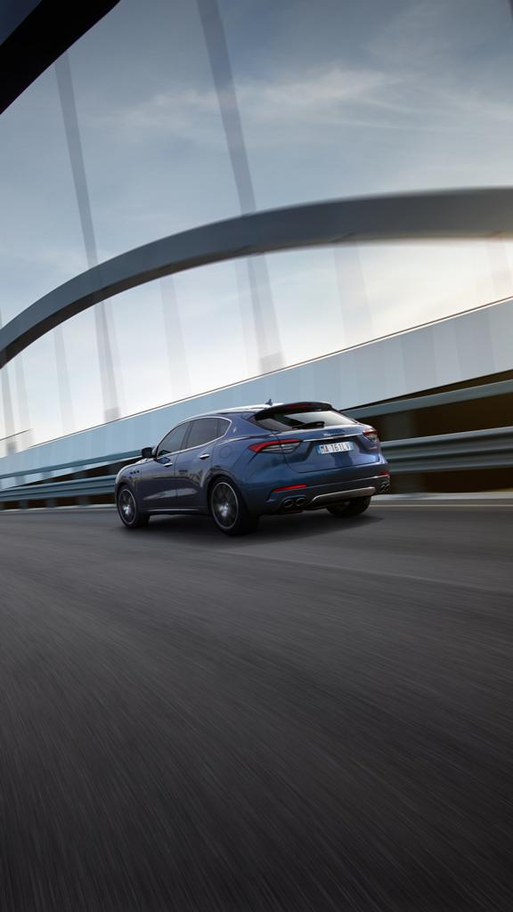 Maserati présente le nouveau Levante Hybrid