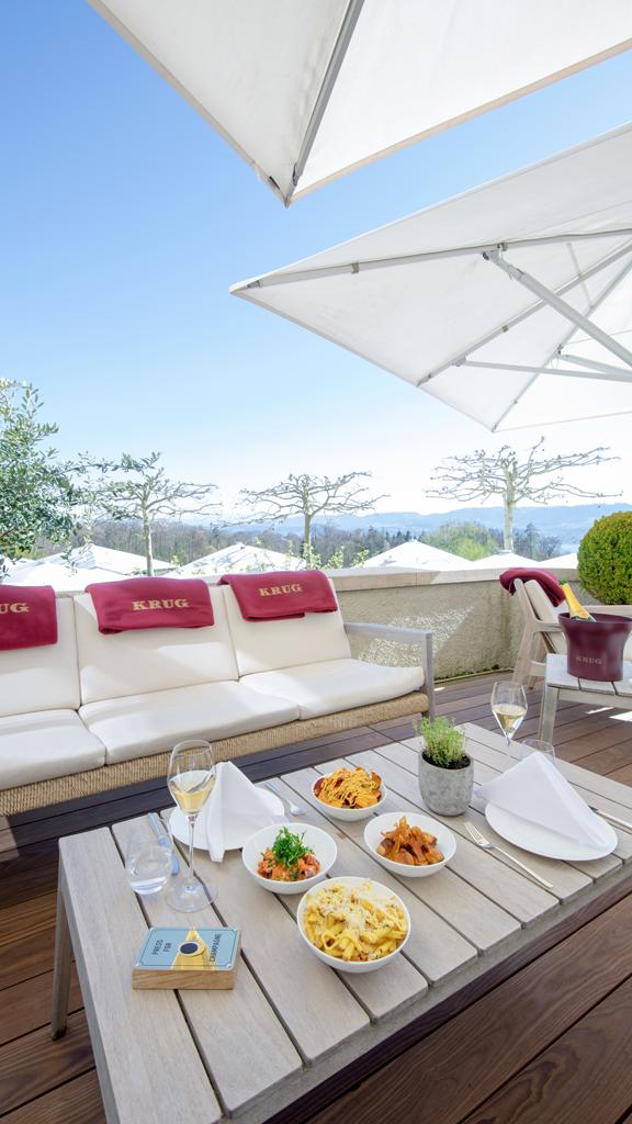 TERRASSE KRUG X DOLDER GRAND : Bienvenue sur la terrasse la plus exclusive de Zurich