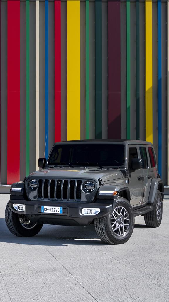 Nouvelle Jeep Wrangler Unlimited 4xe : le meilleur des 4X4 devient électrique