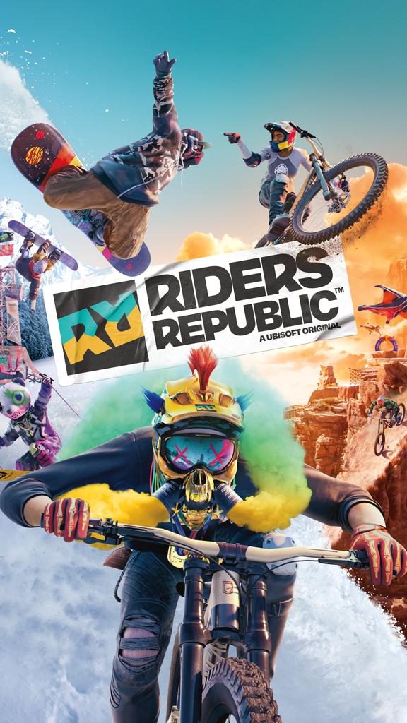 Riders Republic, le nouveau jeu multijoueur en monde ouvert d'Ubisoft sera dispo le 2 septembre