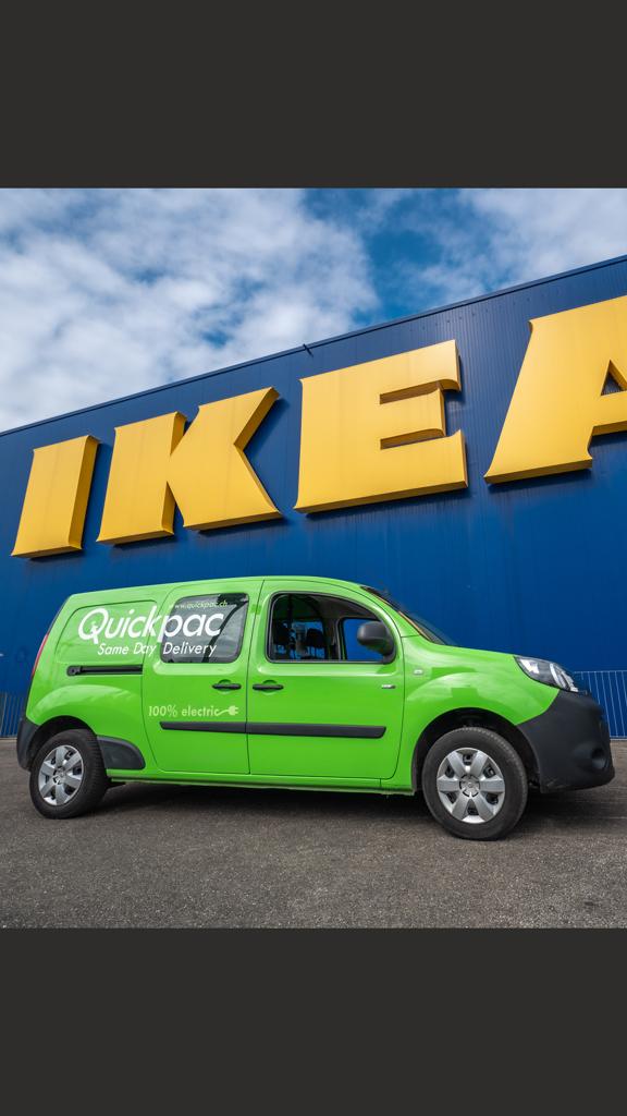 IKEA Suisse propose désormais une livraison sans émission de co2