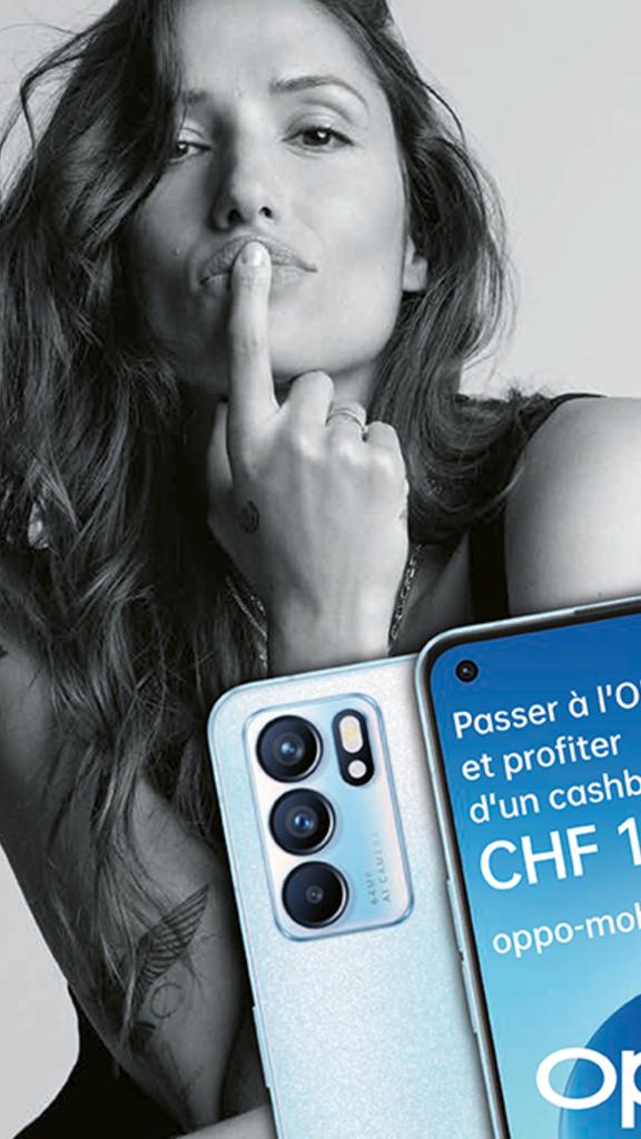 OPPO Suisse lance sa nouvelle campagne sur les ex-téléphones en collaboration avec Melanie Winiger